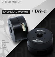 D4005/D4010/D4015 Driver Gimbal Motor Robot Arm Encoder Motor Servo Controller Hollow Motors Support Diameter 8 22MM Slipring