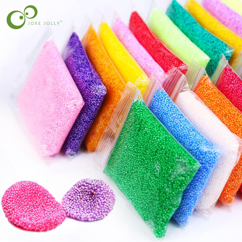 Modeling Clay Learning & Education 24 Colors Snow Mud Fluffy Foam Slime Scented Stress Relief No Borax Kids Toy Clay For Arts Crafts 20g/bag Free Shipping Gyh Keep You Fit All The Time