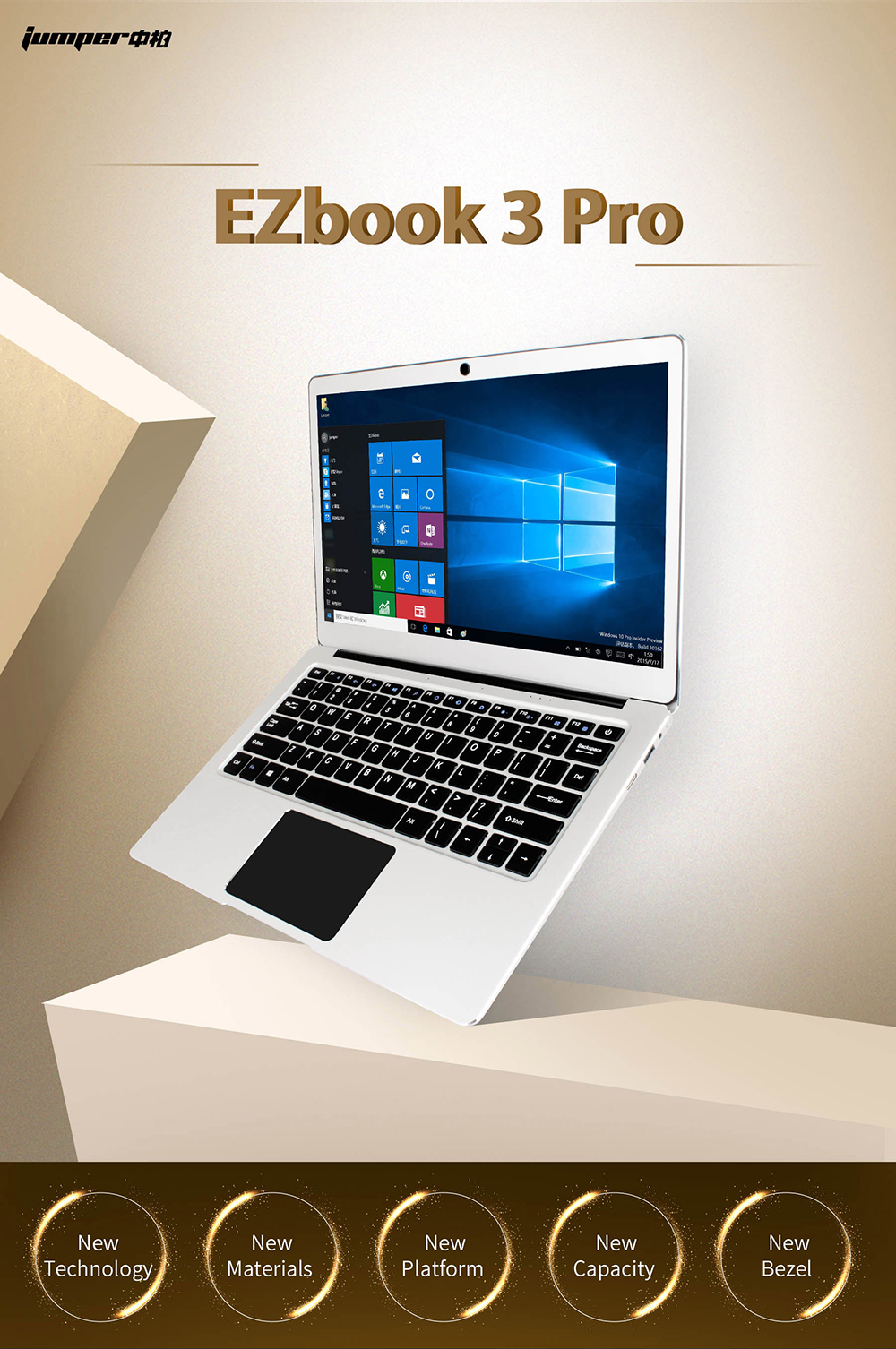 1  Jumper EZbook three Professional laptops 13.three Inch tablets Intel Apollo N3450 Quad Core 6GB DDR3 64GB eMMC Home windows 10 pocket book computador HTB1LnpCRXXXXXcuXVXXq6xXFXXXF