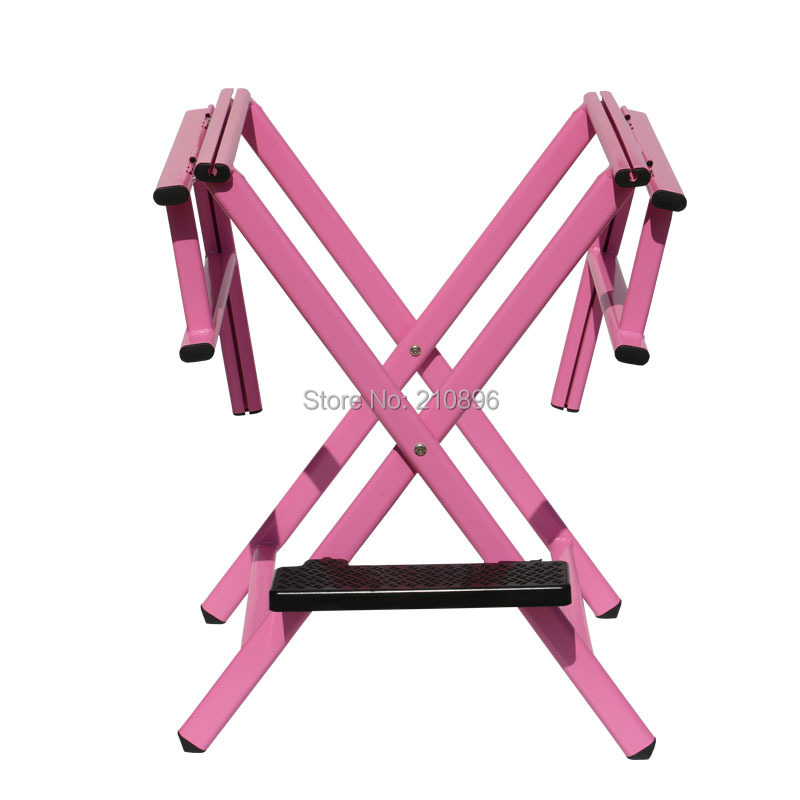 Portable Directors Chair Hairdressing Salon Furniture Aluminum Beach Chair  Black And Pink In Cosmetic Bags U0026 Cases From Luggage U0026 Bags On  Aliexpress.com ...