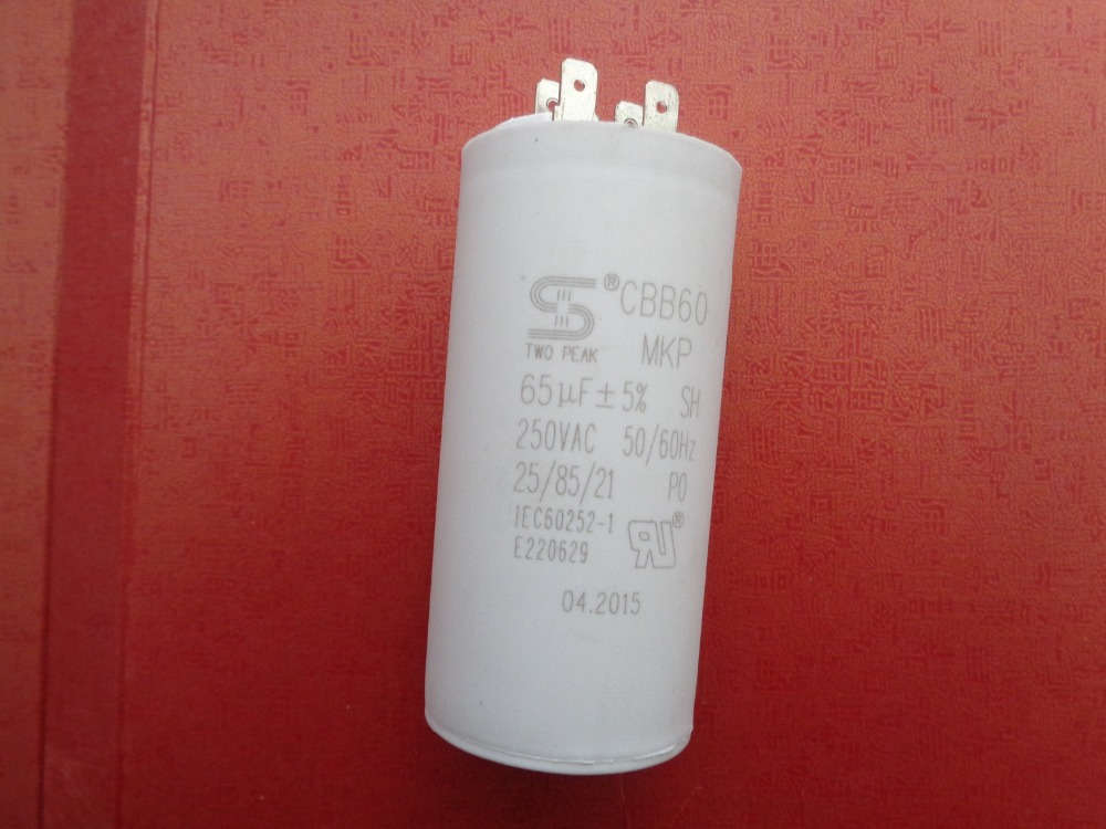 Generator Capacitor ,CBB60 65 uF +/- 5% 50 or 60 Hz. Up to250 volts AC,65MF Generator Regulator цена