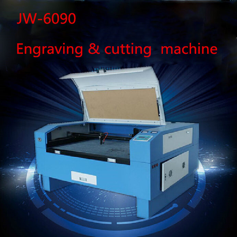Version JW-6090 Laser Co2 80W Out Of CNC Laser Machine Laser Engraving Machine Cutting Machine Engraving Speed 0-60000 Mm/min