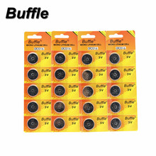 Buffle 20PCS/lot 3V Lithium Coin Cells Button Battery CR2016 For Remote Control