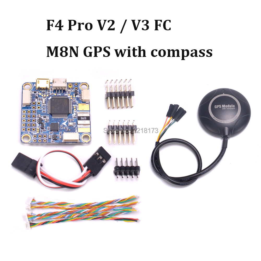 FLIP 32 F4 Pro V2 V3 PRO Flight Controller Built In OSD Barometer & M8N GPS for Wizard X220S Nova 235mm ZMR250 FPV Racing Drone betaflight omnibus f4 pro v3 flight controller built in osd barometer sd blackbox 30 5x30 5mm for fpv quadcopter rc drone diy