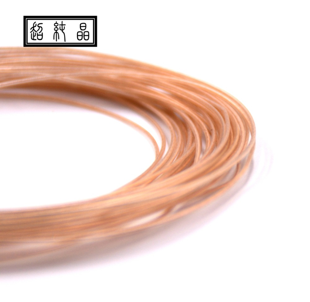 Litz High Pure Copper Fever DIY Headphone Cable 19 Core OD: 0.7mm Hakugei Cable (price Is For 12meters)