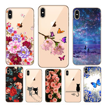 hot deal buy case for iphone xr print phone case for iphone xs max xr x case soft cases colorful capa cover for iphone xr xs max x back cover