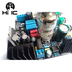 Image 3 - 6N3 כונן TDA7379 ואקום צינור מגבר סטריאו HiFi Amp Amplifie מראש מגבר 38W + 38W DC 12V