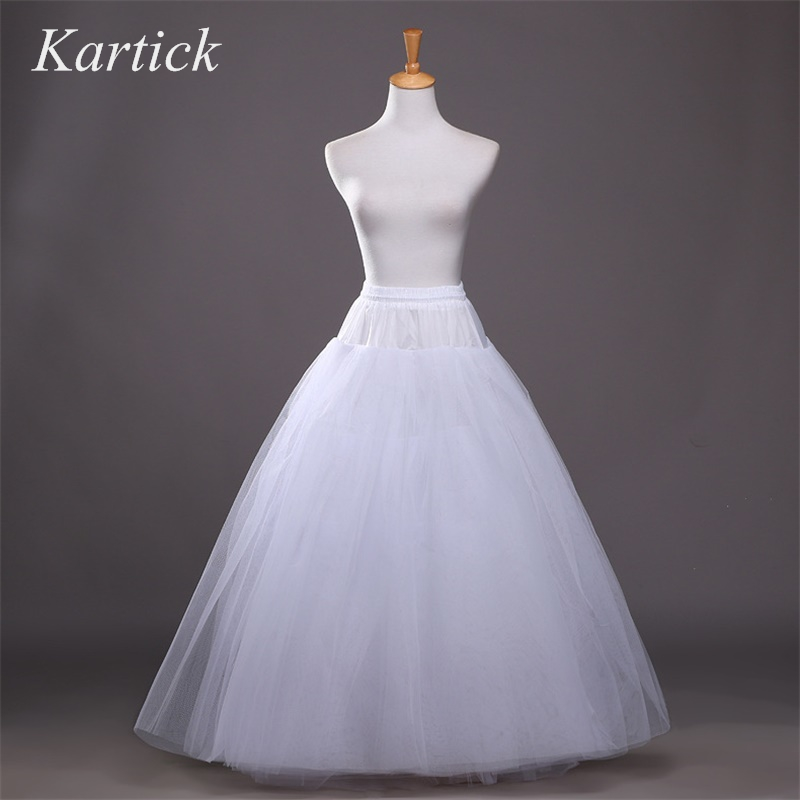 New White Petticoats Ball Gown Elastic Bridal Underskirt 6 Layers No Hoop Crinoline Hot Sale Marriage Adult Wedding Accessories