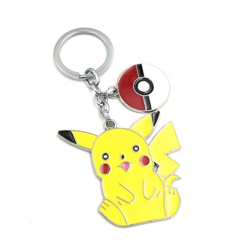 Wholesale game keychain fashion cartoon pikachu pelt elf figure key jpg  800x800 Pikachu pelt c277cc0553d2
