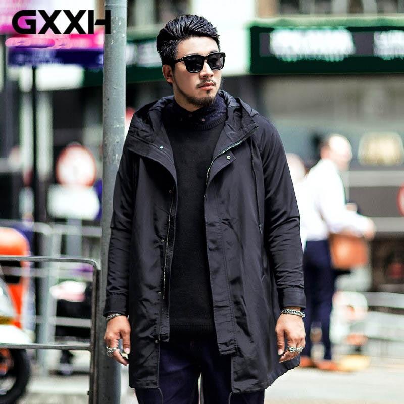 100% Waar Mannen Plus Size 6xl 7xl 8xl Trenchcoat Merk Windjack Overjas Kwaliteit Mannelijke Lange Zwarte Trenchcoat Oversized Mannen Jassen