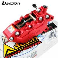 Motorcycle universal modification four piston ADL-7 HF6/F101 Brake calipers For BWS RSZ CNC rear brake motorcycle parts