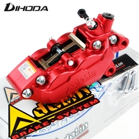 Motorcycle universal modification four piston ADL 7 HF6/F101 Brake calipers For BWS RSZ CNC rear brake motorcycle parts