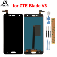 For ZTE Blade V8 LCD Display Touch Screen 1920x1080 Digitizer Assembly Replacement For 5 2inch ZTE
