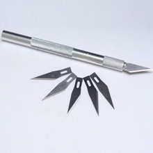 Инструмент Скульптура выгравировать 6 лезвие резной нож Экстра Резервное копирование серьезнее резак Scorper Craft чётко вырезать из дерева вырезать Sculpte хобби