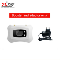 Full Intelligent CDMA Repeater 2g 3g mobile signal booster CDMA 850mhz Cell phone Amplifier Only repeater with adapter