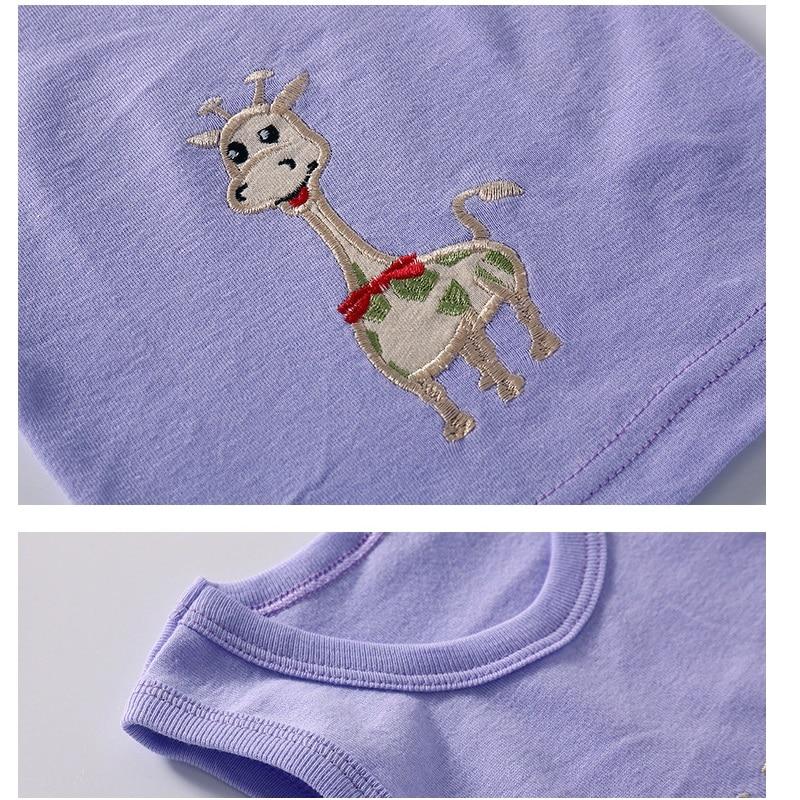 2019 Summer Baby Boy Tops Sleeveless Girls Vest Tanks Camisoles Newborn Undershirts Children T-Shirt Cotton Tee Shirts 0-3Y 6