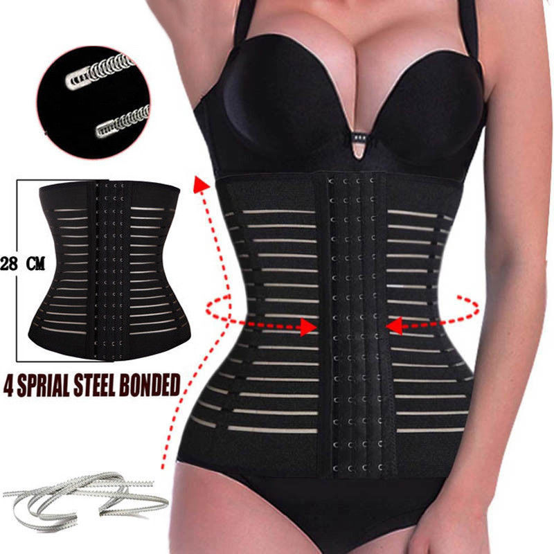 Hot Shaper Waist Trainer plus size shapewear Weight Loss belt Slimming Underwear waist trainer corset Body Shaper Faja