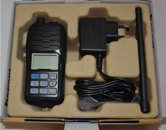 TC-36M Marine radio High quality marine two way radio VHF fm transceiver with IP-X7 HYS Black