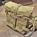 WW2 WWII JAPANESE ARMY 1940 OCTOPUS FLAX Outdoor Hiking Hunting Camping Climbing BACKPACK JP/107108