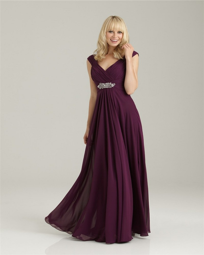 Deep Purple Bridesmaid Dresses All Dress