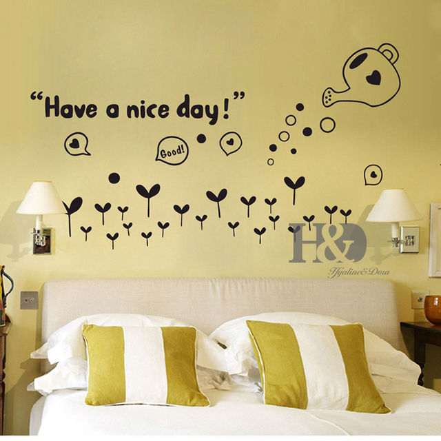 Have a nice day Home Accessories adesivo de parede decor Wall Art ...