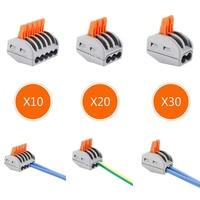 60X2 3 5 pin Braçadeira Terminal De Fiação Fio Compacto Universal Compact Fio Fiação do Conector Condutor Terminal Block