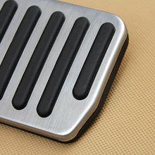 Нержавеющая сталь резиновая крышка педали Замена протектор тормоза аксессуары для Tesla модель 3- практичный