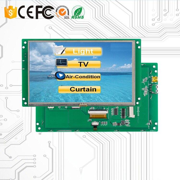 Программируемый TFT ЖК дисплей 7 дюймов Сенсорный экран