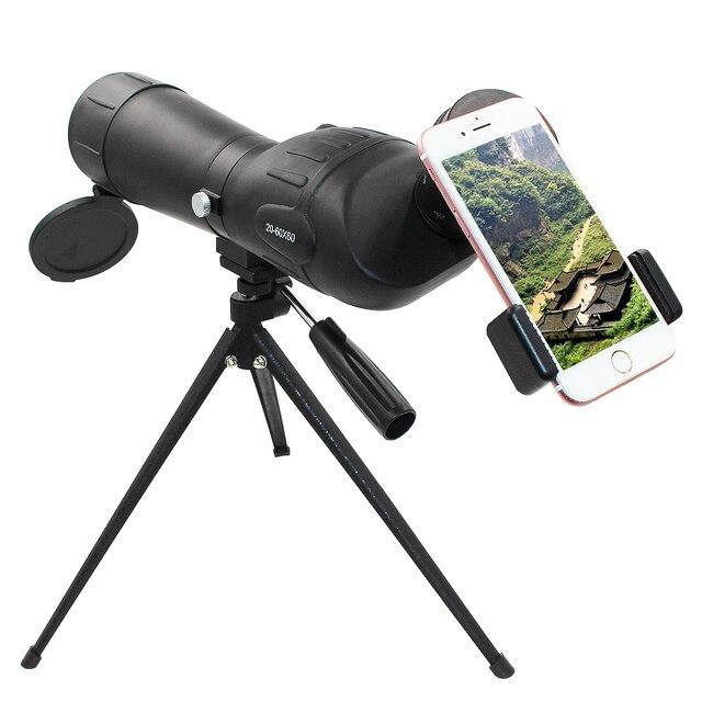 Girlwoman lente de cámara telescópica para teléfono móvil telescópica con Zoom de 20 60X60 para teléfono móvil, Zoom de 60X
