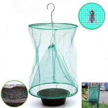 Fly zabít Pest Control Trap nástroje Opakovaně zavěsit Fly Catcher Killer Flytrap Zapper Cage Net Trap Zahradní potřeby zabijáky
