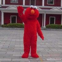 China Wholesale Christmas Sesame Street Elmo Monster Mascot Costume Fancy Dress