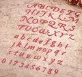 2017 Número y carta de troqueles, muere en scrapbooking carpeta de grabación en relieve de metal troquelado para sizzix fustella pez gordo máquina de corte
