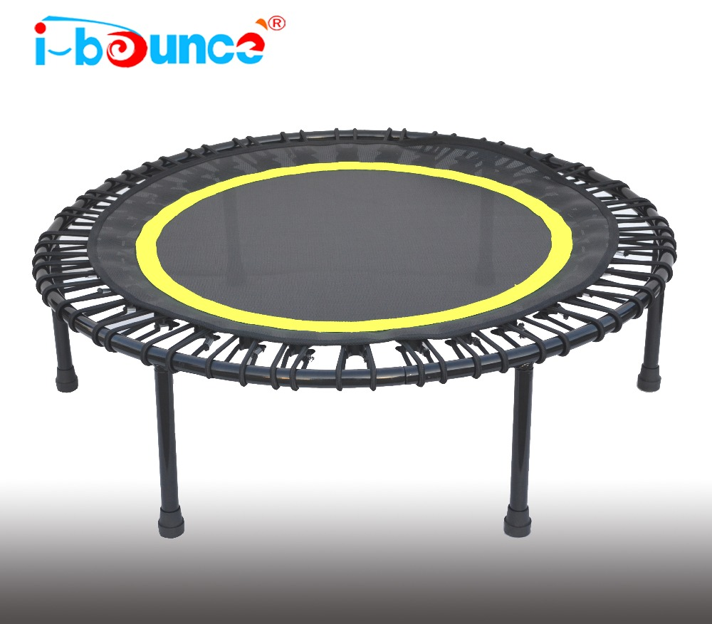 40inch mini trampoline rebounder with bungee cord suspension in