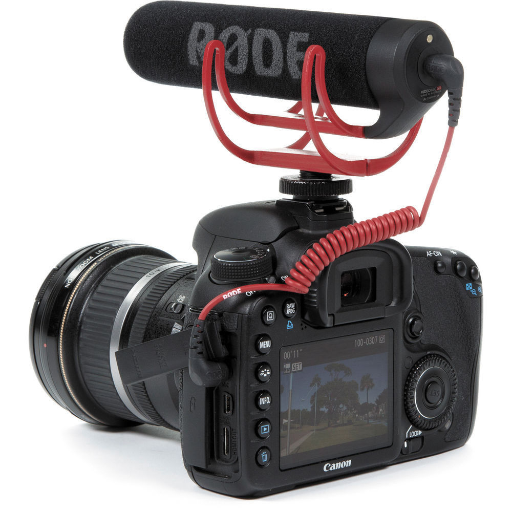 Camera Canon Video Camera Dslr aliexpress com buy rode videomic go on camera shotgun microphone for canon nikon sony dslr dv camcorder from reliable microphon