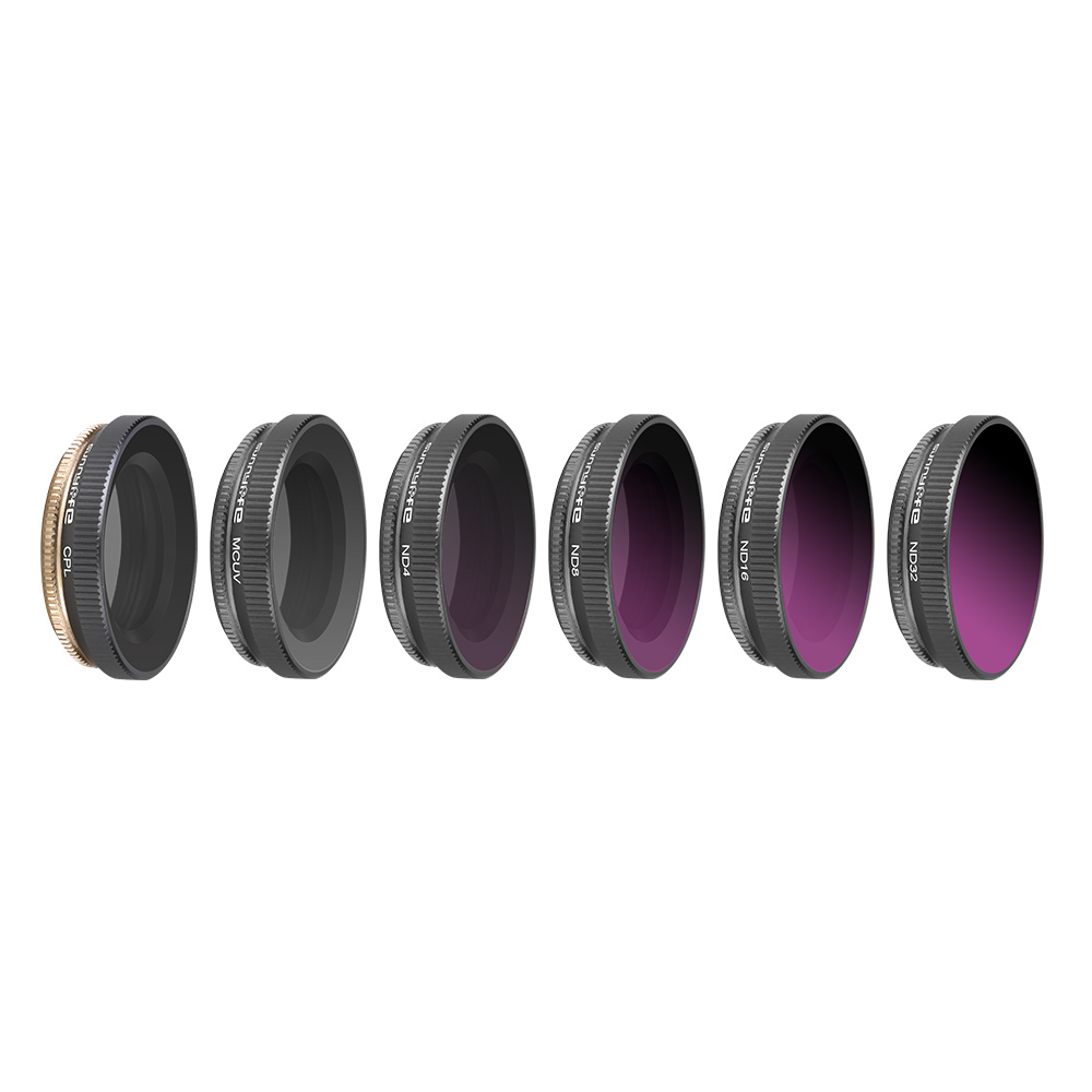 D Xinda for DJI OSMO Action Camra Lens Filters MCUV//CPL//ND4////ND8//ND16//ND32 Camera