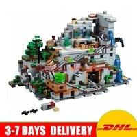 DHL LEPIN 18032 2932 PCS The Mountain Cave My Worlds Model Building Kit Blocks Bricks Children