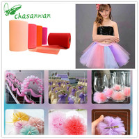 Tulle Roll 100 Yard 15cm Tulle Knit Sewing Mesh Fabric DIY Tutu Skirt Organza Wedding Party