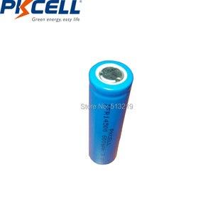 Image 3 - 2 Chiếc PKCELL AA 14500 3.2V Lifepo4 Pin Sạc Lithium Ion Cell 600MAH IFR14500 Cho Camera Năng Lượng Mặt Trời đèn Led