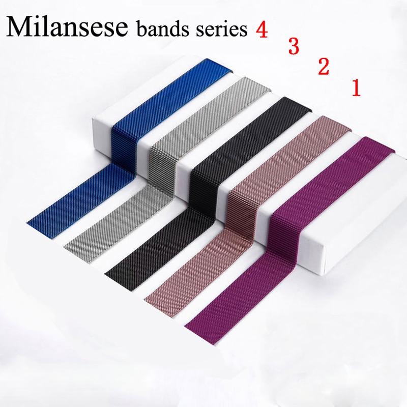 Milanese Schleife correa für Apple Uhr Band 44mm 40mm 42mm 38mm Iwatch serie 4/3 /2/1 Edelstahl Armband armband armband