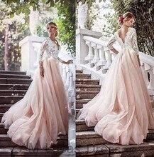 Luxus Abendkleider Mit Hülsen Spitze 2016 Vestido De Festa Prinzessin Stil Formale Abendkleider Ballkleider Schnelles Verschiffen