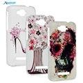 Новая Мода Жесткого Пластика Живопись Case Для Alcatel One Touch поп С7 Прозрачный Защитный Телефон Сумка Задняя Крышка Case Капа Fundas