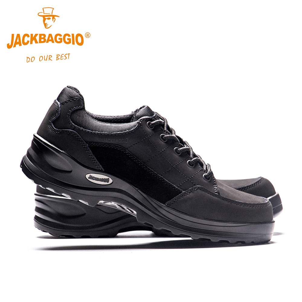 Work-Shoes Anti-Slip Reflective Military Black Handsome Casual Fashion Mens Man Breathable thumbnail