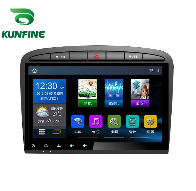 4 ядра 600*6,0 Android 1024 автомобиль DVD gps навигационный плеер Deckless стерео для peugeot 408 2012-2010 Радио головного устройства Wi-Fi