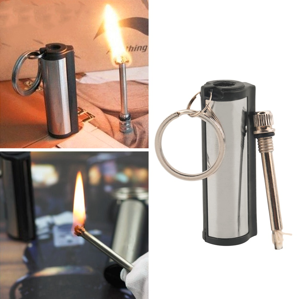 Pc new stainless steel permanent survival camping