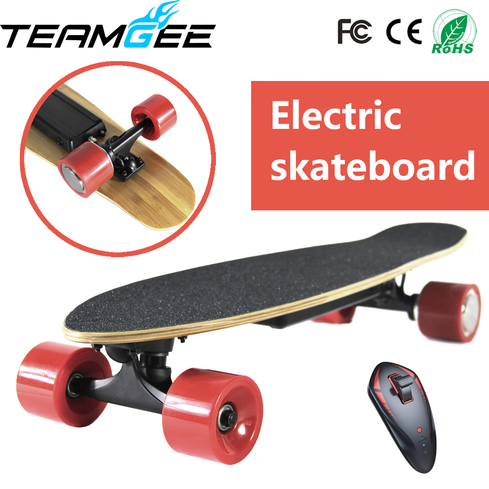 four 4 wheel electric skateboard single motor electric skateboard hoverboard electric overboard. Black Bedroom Furniture Sets. Home Design Ideas