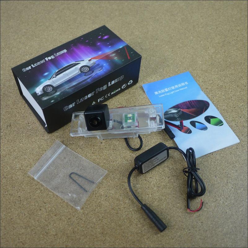 Anti Collision Laser For Mini Clubman / Convertible Countryman Prevent Mist Fog Lamps Haze Warning Rear Light