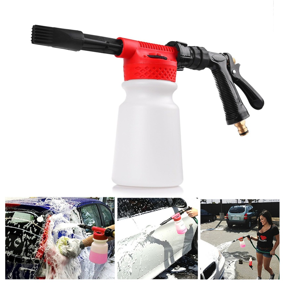 900 ML voiture lavage mousse pistolet voiture nettoyage lavage neige mousse Lance voiture eau savon pulvérisateur pulvérisation mousse pistolet pour voiture moto