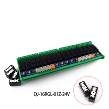 цена на Omron Relay Single Module, 16-way 5-pin Intermediate Relay Module, Rail Mount, Original Quality