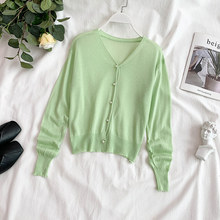 Women Cardigan Sweater Button Up Long Sleeve Casual Autumn Knit Jumper Casual Cardigan Mujer Knitwear 2019 New Fashion Single button up zigzag pattern cable knit sweater