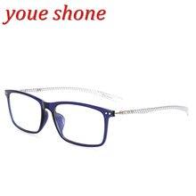8bfe9112bc youe shone Brand Carbon Fiber Male Frame armacao oculos de grau Eye Glasses  Quality Frames Female Eyeglasses Frame for Myopia